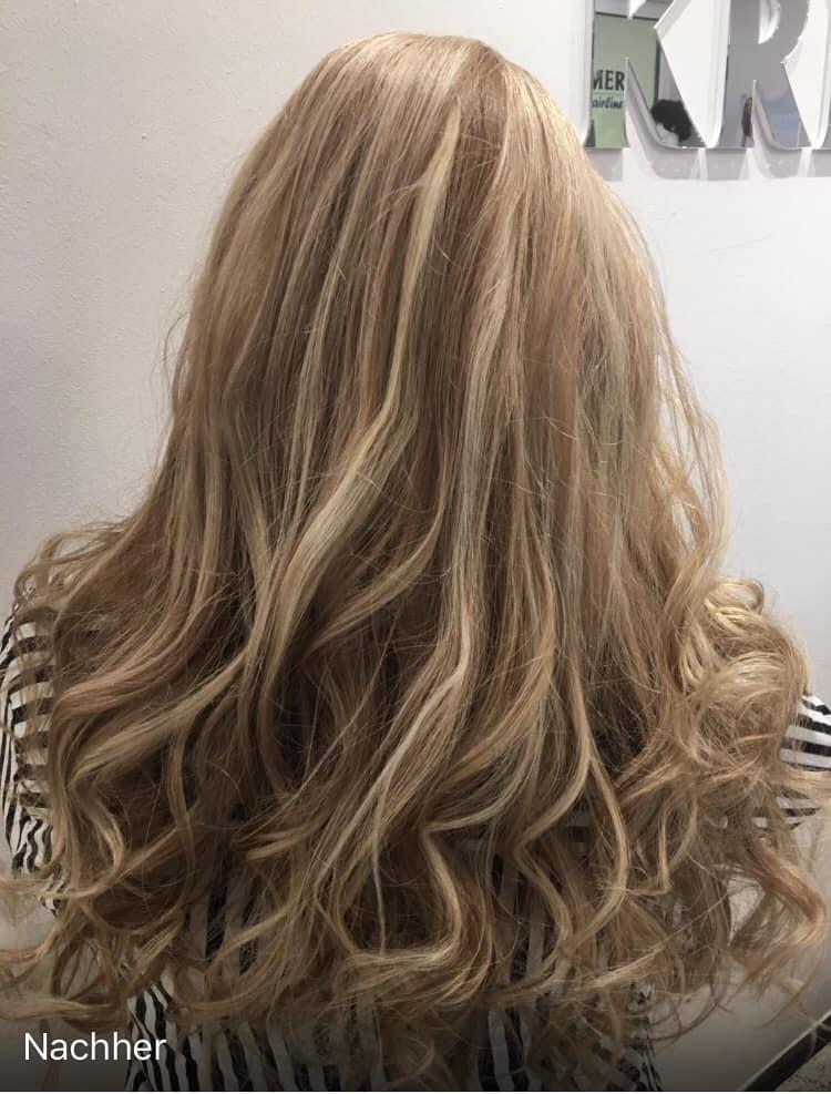 Balayage in Blond