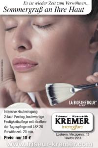 Kosmetik bei Friseur und Kosmetik Kremer Losheim