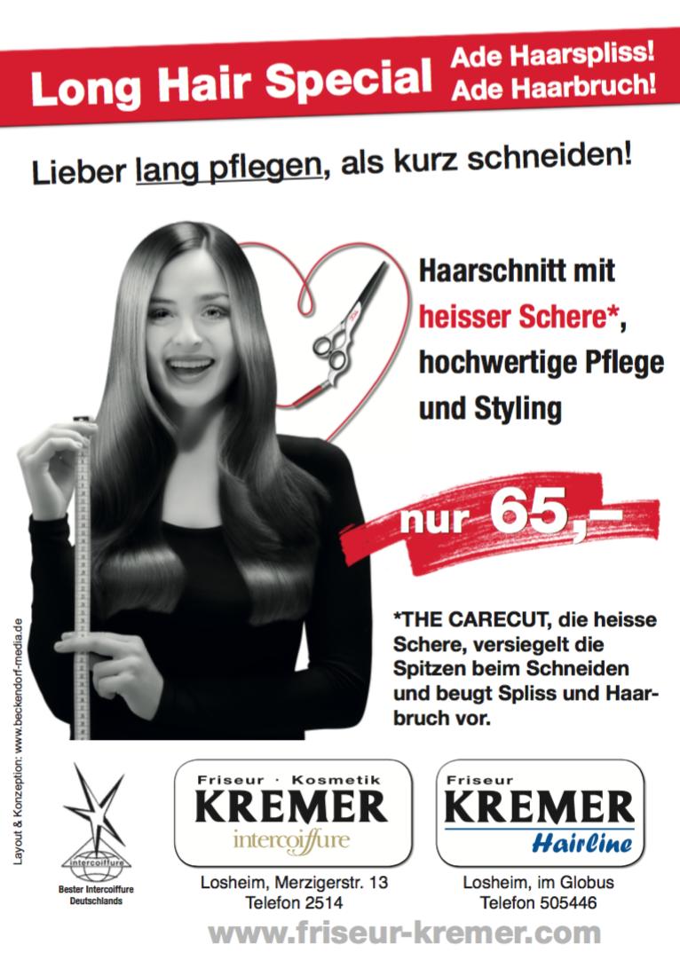 Heisse Schere bei Friseur Kremer Losheim